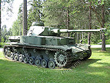 Medium & Heavy Finnish WWII tanks.